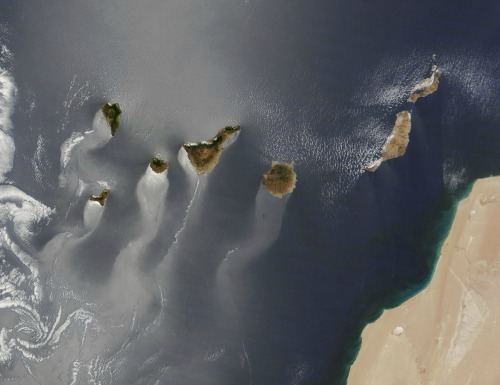 Canary Islands Satellite Photo