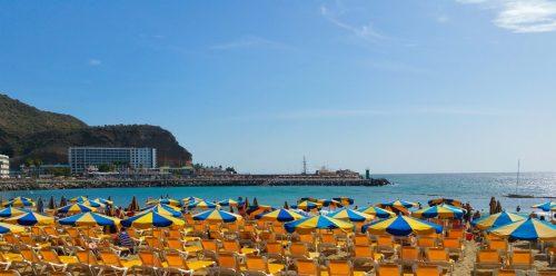 puerto rico beach,gran acnaria