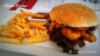 Fusion Restaurant Chicken Burger
