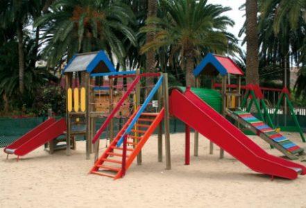 Children playground at El Cortijo Golf Course