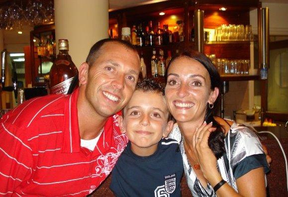 Craig Shaw and Family, Gran Canaria Golfer
