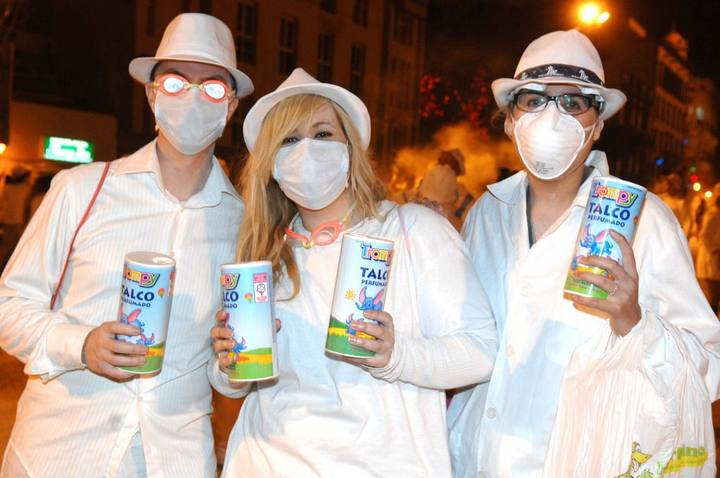 Der weiße Karneval Las Palmas