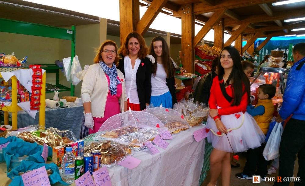 Valsequillo Almond Route Market stall