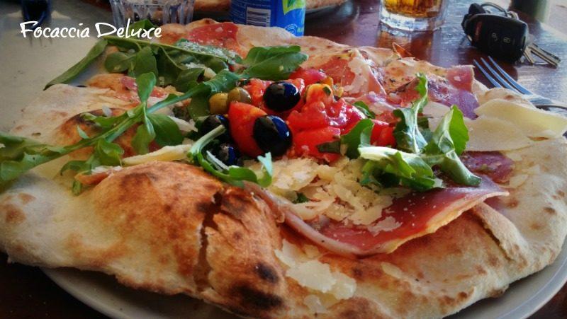 Restaurant Adio Mare Focaccia Deluxe