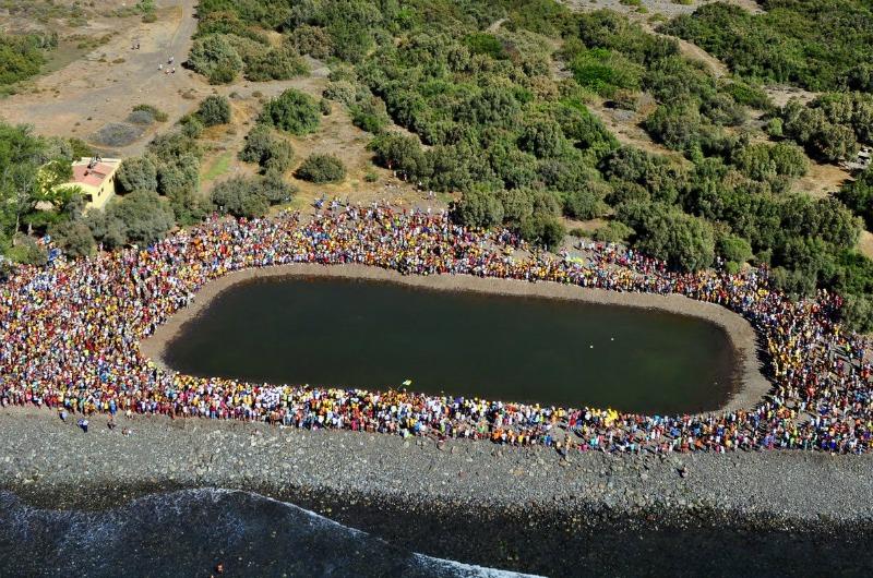 Fiesta del Charco La Aldea San Nicolas