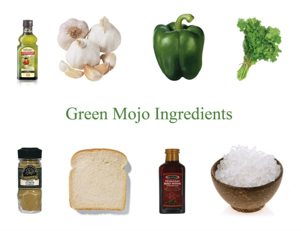 Mojo Verde Ingredients