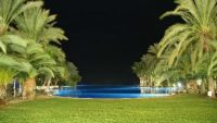 Hotel Costa Meloneras Infinity Pool by night