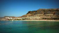 Amadores beach, Mogán, Las Palmas, Gran Canaria, Spain