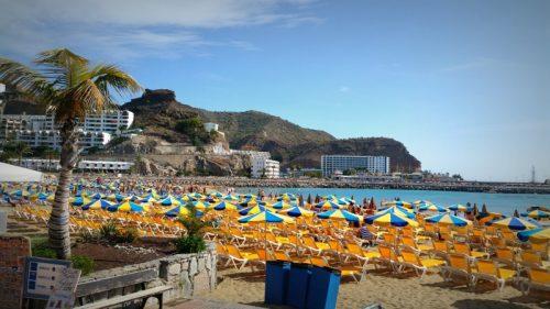 Puerto Rico beach, Puerto Rico, Gran Canaria, Spain