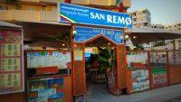 Restaurant San Remo, Playa del Inglés, Maspalomas, Gran Canaria, Spain