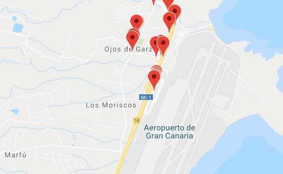 Gran Canaria Karte Flughafen.Gobal Su Bus Gran Canaria Für Ausflüge Zum Flughafen Buslinien
