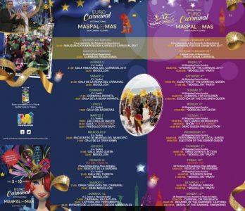 Maspalomas carnival program