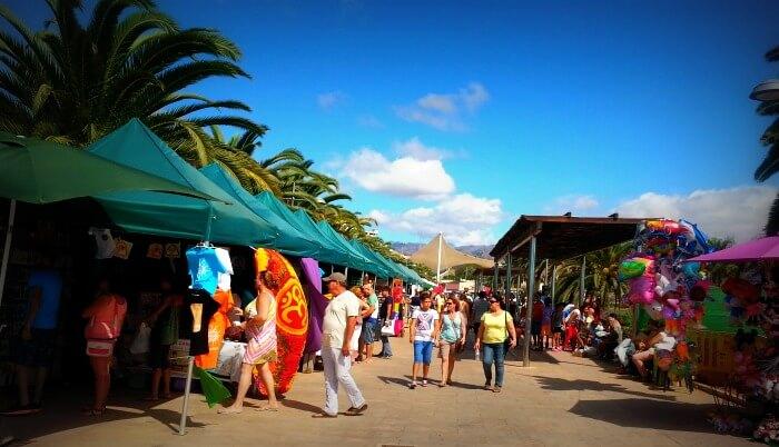 Maspalomas Markt in San Fernando.