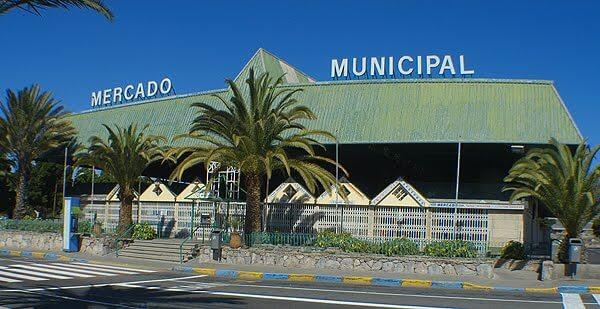 Wochenmarkt in Maspalomas / Gran Canaria. Immer Mittwochs und Samstags in San Fernando.