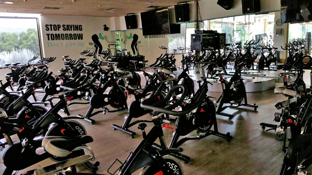 Spinning Ozone Boutique Gym. Holiday World Maspalomas, Gran Canaria