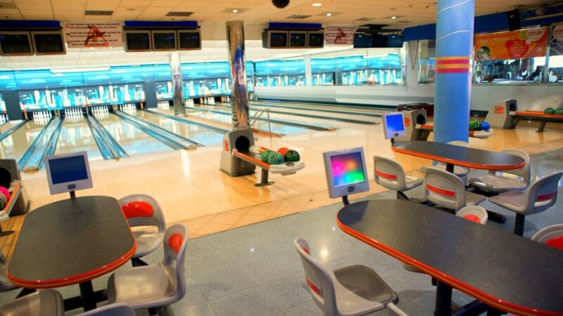 Holiday World - bowling alley