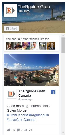 Gran Canaria Regional Facebook