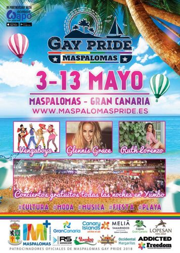Gay Pride Maspaloms 2018