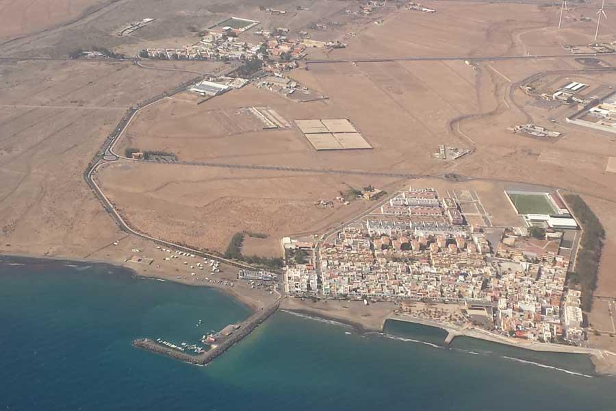 Landeanflug Gran Canaria