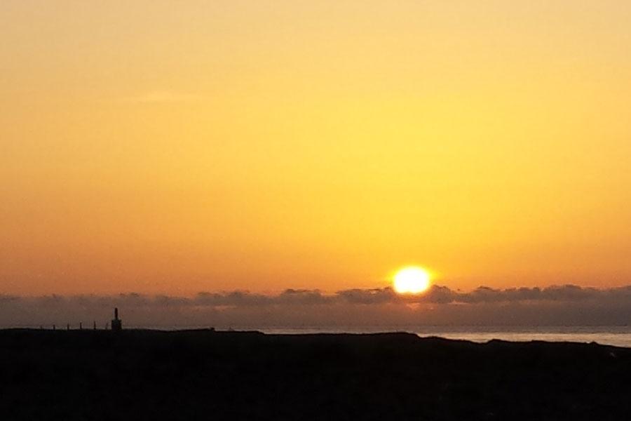 Salida del Sol en Gran Canaria