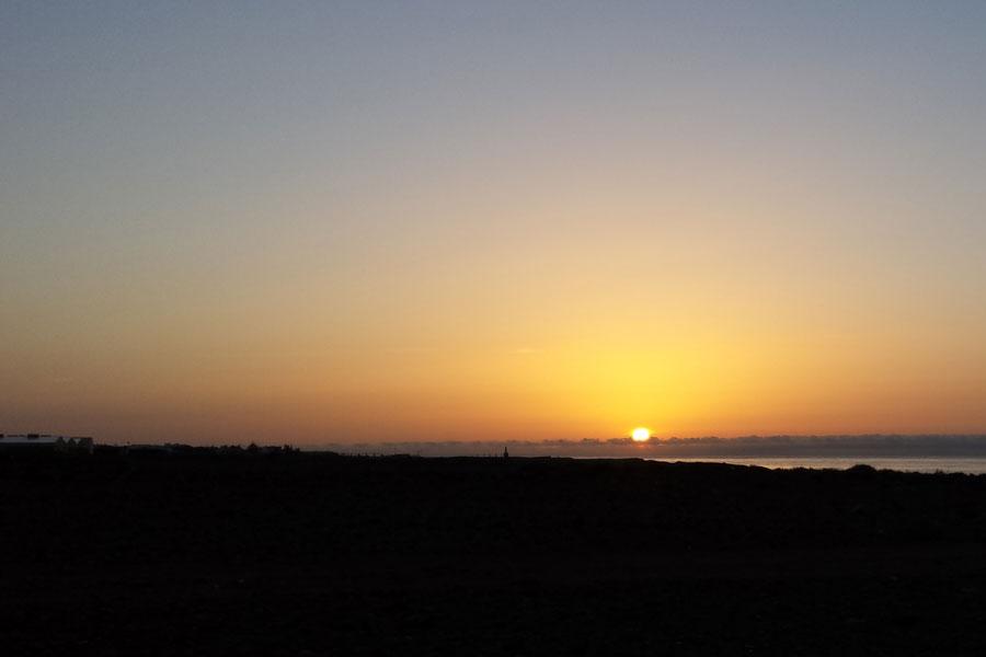 Sonnenaufgang Gran Canaria.