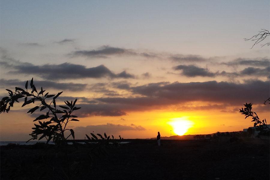 Sonnenuntergang Gran Canaria 2018.