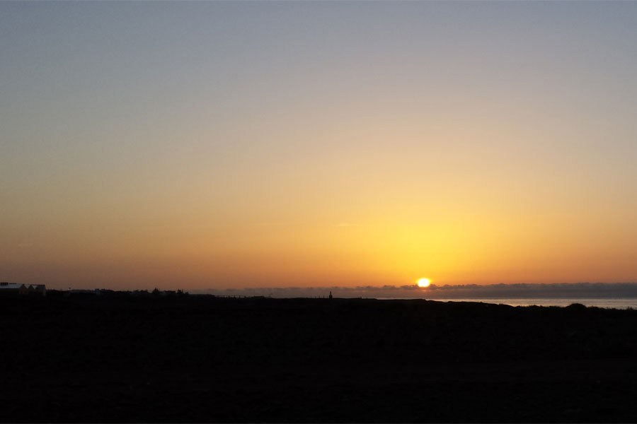 Sunrise Gran Canaria.