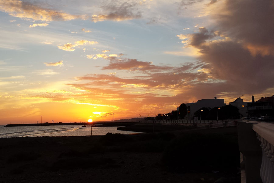 Sunset Gran Canaria - Maspalomas.