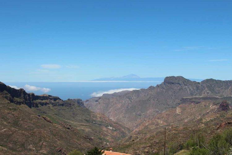 Teneriffa von Gran Canaria aus.