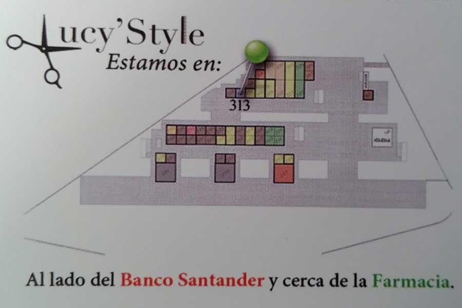 Lucy Style Anfahrt und Lageplan in San Agustin / Maspalomas.