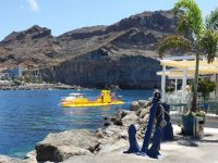 yellow submarine gran canaria mogan