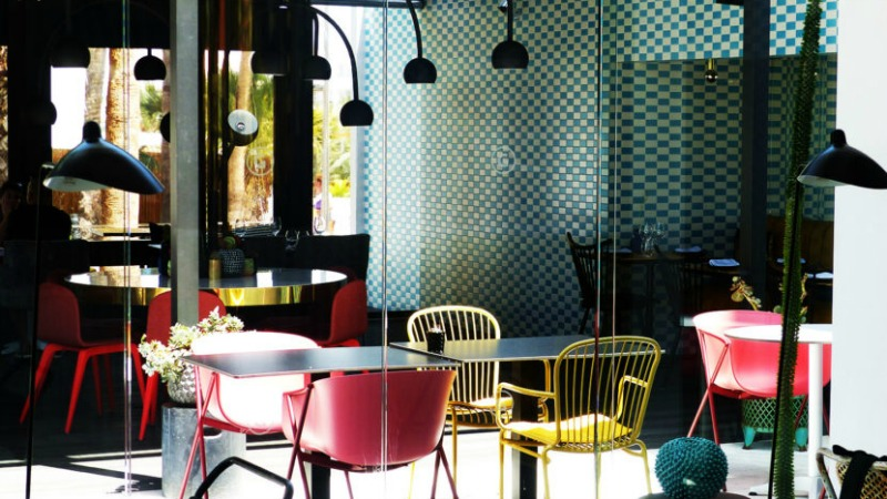 Restaurant La Palmera Sur inside