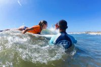 Learn to Surf in Maspalomas with Bjorn Dunkerbeck Surf School