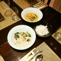 Fusion Restaurant Playa del Inglés - Green And Red Curry