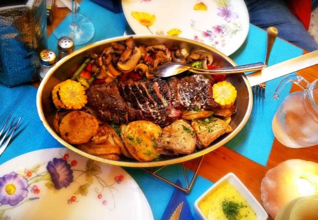 Provencale Steak La Espetada Playa del Inglés