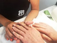 French Manicure at ROUTE 69 Beauty & Wellness