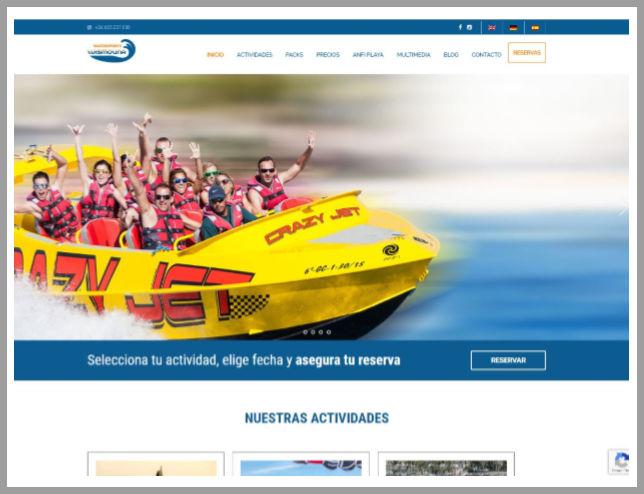 Multilingual Website - online booking
