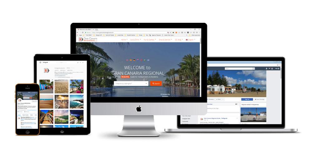 Websites Gran Canaria