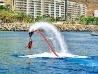 Flayboard watersports Luis Molina Mogan