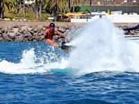 Flayboard watersports Luis Molina Anfi Beach