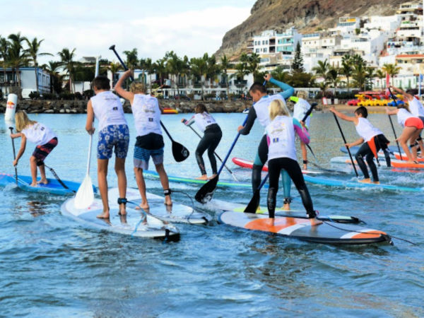 BD Surf paddelsurfing Playa del Ingles