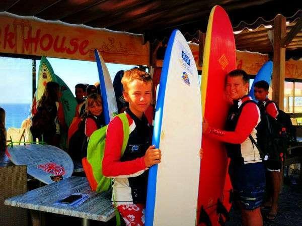 BD Surf Surfing Dunkerbeck Maspalomas Curso de Surf