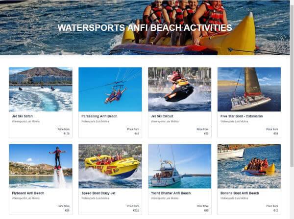 Anfi Sport acquatici