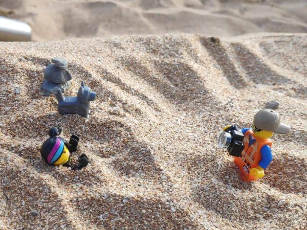 Kids and Bricks Lego Sand