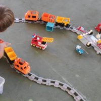 Kids and Bricks Lego Duplo Train
