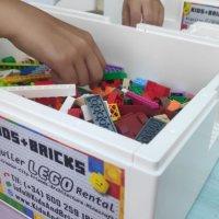 Kids and Bricks Lego Rental White Box